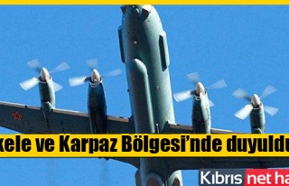 Vurulan uçağın patlama sesi Kıbrıs'tan duyuldu