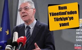 Rum Yönetimi'nden Türkiye'ye yanıt