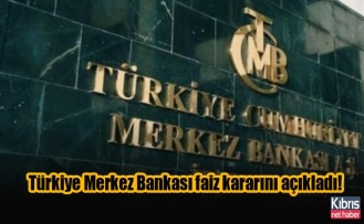 Türkiye Merkez Bankası faiz kararını açıkladı!