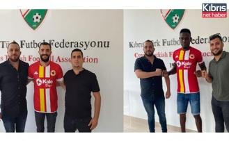 Süper Lig'in yeni ekibi Mustafa Yaşinses ve Joseph'i kadrosuna kattı