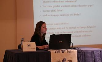 """LAÜ'de""""Zorunlu Eğitim Süresinin Sosyo-Ekonomik Çıktılara Etkisi"""" irdelendi"""