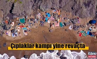 Güney Kıbrıs'ın çıplaklar kampı yine revaçta