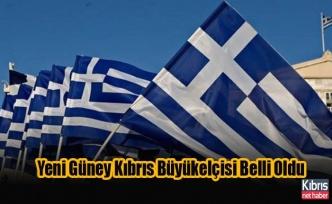 Yunanistan'ın Yeni Güney Kıbrıs Büyükelçisi Belli Oldu