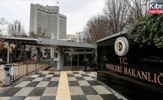 Türkiye'den NATOM yayımlayan Yunanistan'a ilişkin açıklama