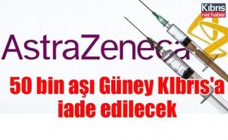 50 bin aşıGüney KIbrıs'a iade edilecek