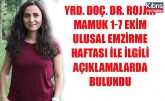 Yrd. Doç. Dr. Rojjin Mamuk 1-7 Ekim Ulusal Emzirme Haftası ile ilgili açıklamalarda bulundu