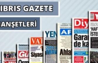 27 Kasım 2019 Çarşamba Gazete Manşetleri