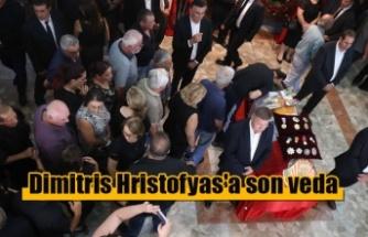 Dimitris Hristofyas'a son veda