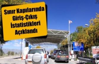 Sınır Kapılarında Giriş-Çıkış İstatistikleri Açıklandı