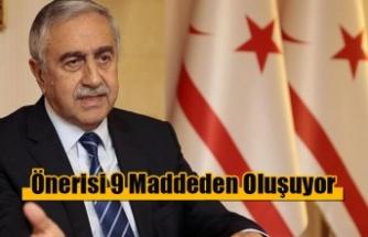 Akıncı'nın Anastasiadis'e Önerisi 9 Maddeden Oluşuyor