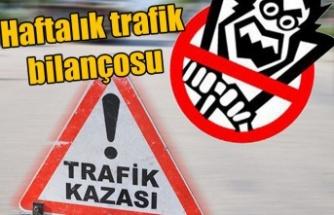 Haftalık trafik raporu açıklandı