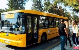 DAÜ'nün Ücretsiz Otobüs Hizmeti Devam Ediyor