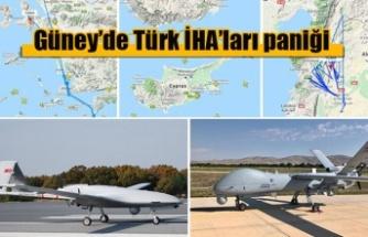 Güney'de Türk İHA'ları paniği