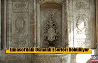 Limasol'daki Osmanlı Eserleri Dökülüyor