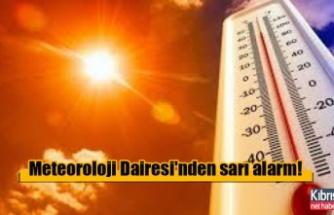 Rum Meteoroloji Dairesi'nden sarı alarm!