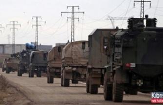 Türk konvoyu o bölgeye ilerliyor