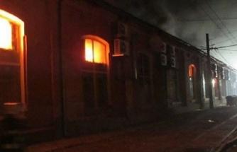 Ukrayna'da otelde yangın: 8 ölü