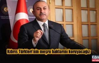 """""""Siyasi bir çözüm bulunana kadar Kıbrıs Türkleri'nin haklarını korumalıyız"""""""