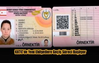 KKTC'de Yeni Ehliyetlere Geçiş Süreci Başlıyor