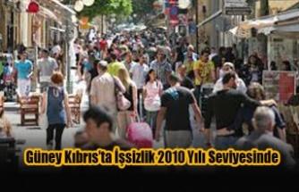 Güney Kıbrıs'ta İşsizlik 2010 Yılı Seviyesinde