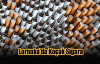Larnaka'da Kaçak Sigara