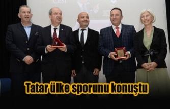 Tatar ülke sporunu konuştu