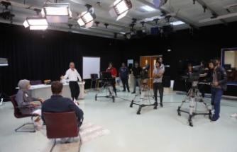 LAÜ TV'de öğrencilere televizyonculuk deneyimi kazandırılıyor