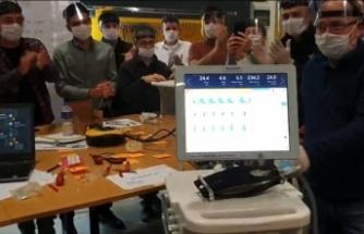 Türkiye yerli solunum cihazı üretti