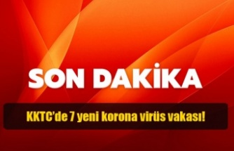 KKTC'de 7 yeni korona virüs vakası!