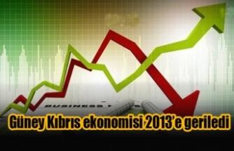 Güney Kıbrıs ekonomisi 2013'e geriledi