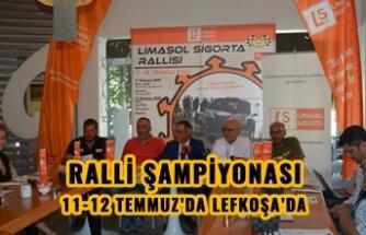 KUZEY KIBRIS RALLİ ŞAMPİYONASI 11-12 TEMMUZ'DA LEFKOŞA'DA