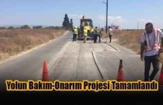 Taşken-Dikmen Bölgelerini Kapsayan Yolun Bakım-Onarım Projesi Tamamlandı