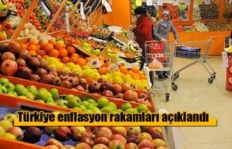 Türkiye Enflasyon rakamları açıklandı