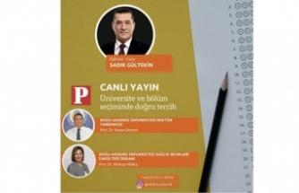 DAÜ, Fakülte dekanları posta gazetesinin canlı yayınına konuk oluyor