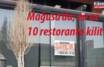 Mağusa'da en az 10 restoranta kilit