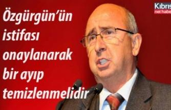Özyiğit: Özgürgün'ün istifası onaylamalı