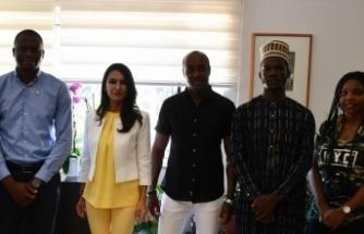 Ulusal Nijeryalı Öğrenciler Birliği'nden DAÜ'ye ziyaret