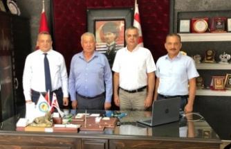 YDK Yetkilileri Paşaköy Belediye Başkanı Tülücü'yü ziyaret etti