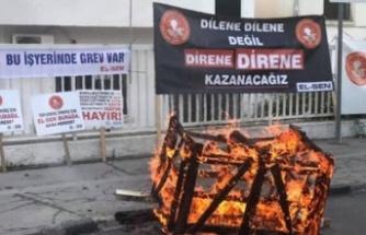 EL-SEN, grev başlattı