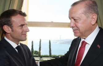 Erdoğan ile Macron görüşecek