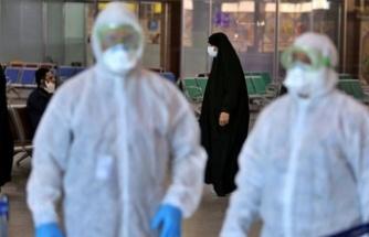 İran'da vaka sayısı 3 binin üzerinde
