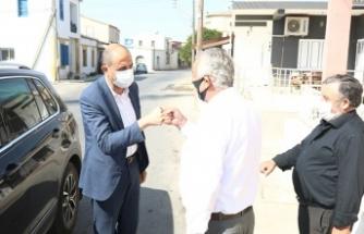 Özersay, Paşaköy, Akdoğan ve Vadili Belediyelerini ziyaret etti