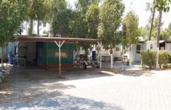 Yeniboğaziçi Belediyesi Salamis Kamping tesisi'ni mühürledi