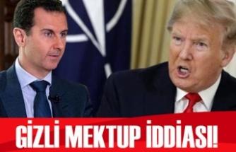 ABD basınından çarpıcı iddia: Trump, Esad'a mektup yazdı