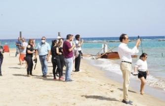 Kapalı Maraş'ın sahil şeridinin açılması Rum basınında