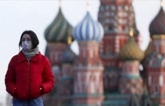 Rusya'da Kovid-19 vaka sayısı 1 milyon 463 bini geçti
