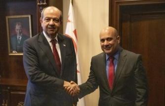 Tatar, KKTC Budapeşte temsilcisi Ezel'i kabul etti