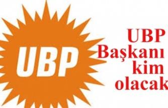 UBP'de parti başkanı kim olacak?