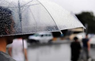 Yarın ve haftaya bazı günlerin yağmurlu olması bekleniyor