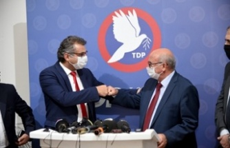 Erhürman, TDP'yi ziyaret etti